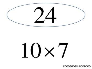 Multiplication Scavenger Hunt 2 - Numbers 0-10 - PP
