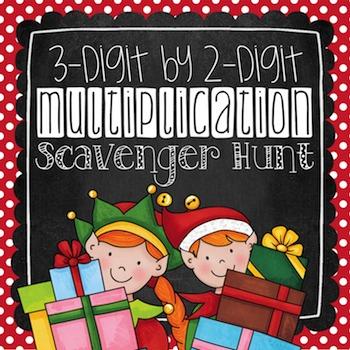 Multiplication Scavenger Hunt