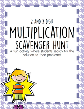 Multiplication Scavenger Hunt