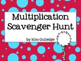 Multiplication Scavenger Hunt - 3.OA.3 and 3.OA.5 - Around the Room Math