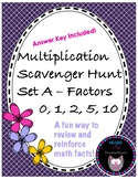 Multiplication Scavenger Hunt A