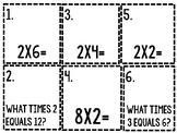 Multiplication Scavenger Hunt by Twos