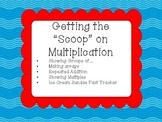 Multiplication Scoops - Ice Cream Themed Multiplication Ac