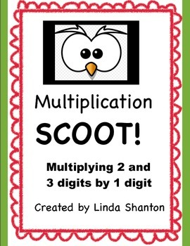 Multiplication Scoot!