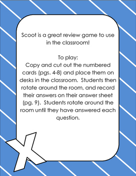 Multiplication Scoot