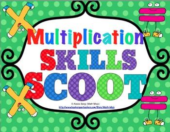 Multiplication Scoot Bundle