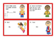 Multiplication Scoot Cards