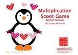 Multiplication Scoot Freebie (Valentine's Day Theme)