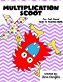 Multiplication Scoot Game