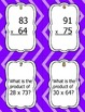 Multiplication Scoot/Task Cards - 2 digit by 2 digit