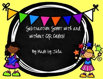 Subtraction Scoot with QR Codes!