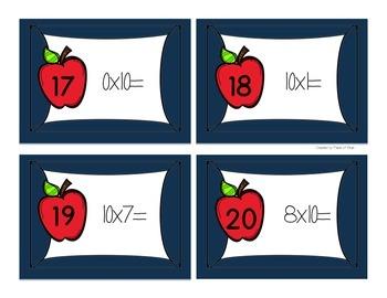 Multiplication Scoot x10