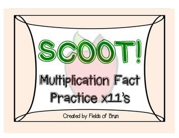 Multiplication Scoot x11
