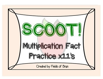 Multiplication Scoot x11