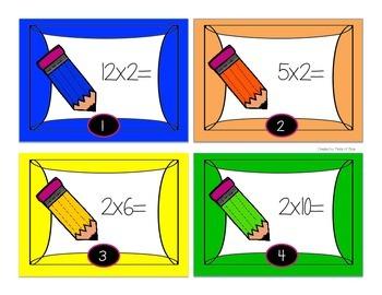 Multiplication Scoot x2