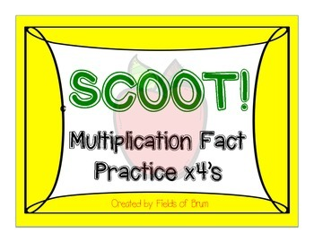 Multiplication Scoot x4