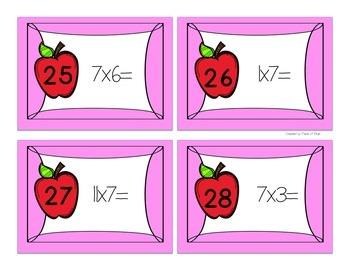 Multiplication Scoot x7