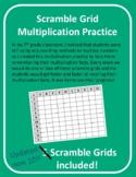 Multiplication Scramble Grid Practice