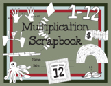 Multiplication Scrapbook - Times Tables 2-12 - worksheets
