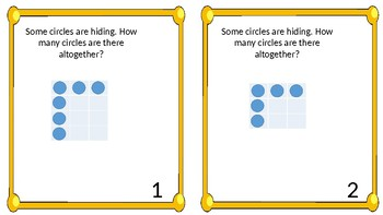 Multiplication Screens (Hidden Multiplication Task Cards)