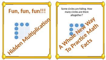 Multiplication Screens (Hidden Multiplication Task Cards)