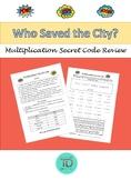 Multiplication Secret Code