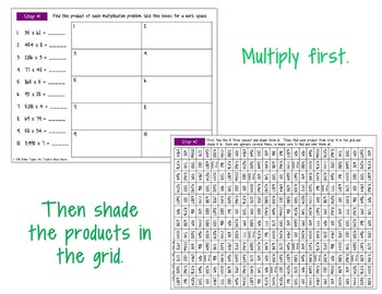 Multiplication Secret Message 4.4D