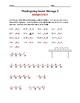 Multiplication Secret Messages - Thanksgiving