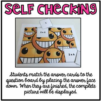 Multiplication Self-Checking Center Activities