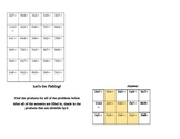 Multiplication Shading Activity- multiplication and divisi