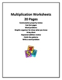 Multiplication Sheets
