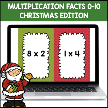 Multiplication Shout It Out (Christmas Edition)
