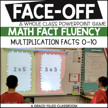 Multiplication Facts 0-10 (Christmas Edition)