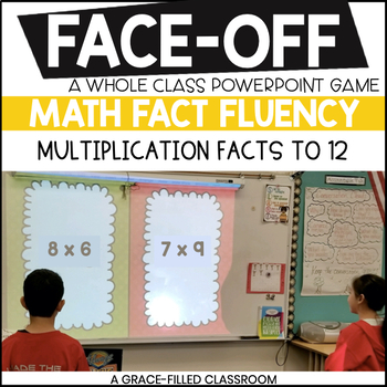 Multiplication Shout It Out (Spring Edition)