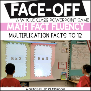 Multiplication Facts to 12 (Valentine's Edition)