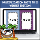 Multiplication Shout It Out (Winter Edition)