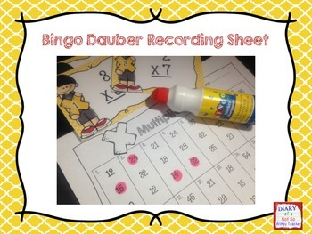 Multiplication Single-Digit Task Cards