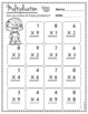 Multiplication Practice Sheets - Single and Double Digit