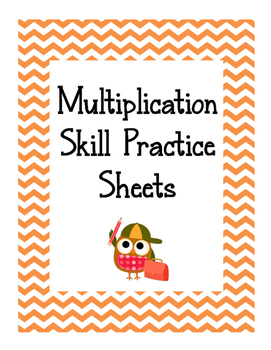 Multiplication Skill Practice