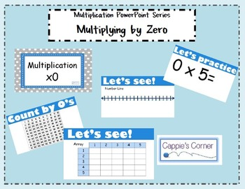 Multiplication Skills PowerPoint - Multiplying by Zero