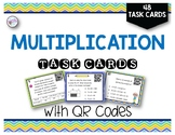 Multiplication Skills with QR Codes  (VA SOL 5.4, 5.3A)