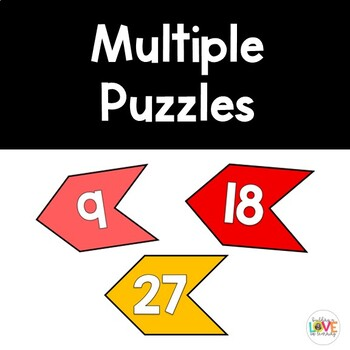 Multiplication Skip-Count Connecting Cards