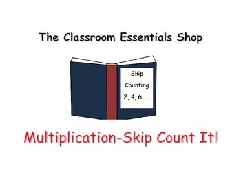 Multiplication - Skip Count It!