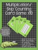 Multiplication/ Skip Counting Card Game x10