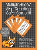Multiplication/ Skip Counting Card Games x1