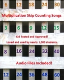 Multiplication Skip Counting Songs