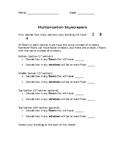 Multiplication Skyscrapers
