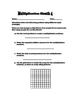 Multiplication Sleuth