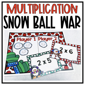 Multiplication Snow Ball War