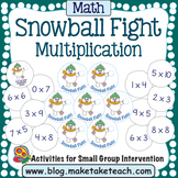 Multiplication- Snowball Fight!